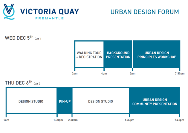 Vic Quay Urban Design FOrum