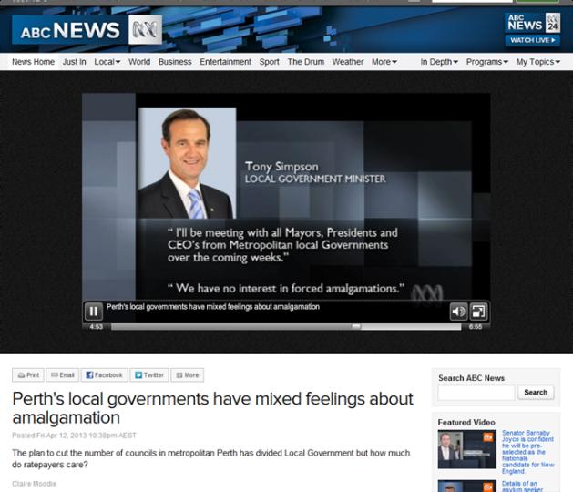 ABC 7.30 Perth