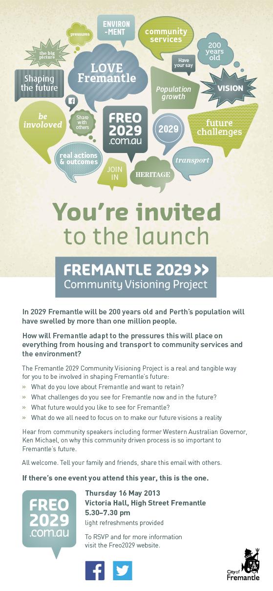Fremantle 2029 Visioning