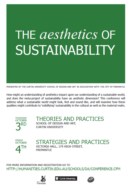 aesthetics of sustainability