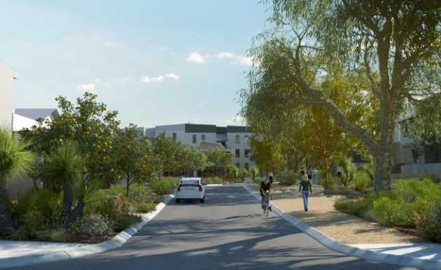 Artist impression of Landcorp's White Gum Valley development.