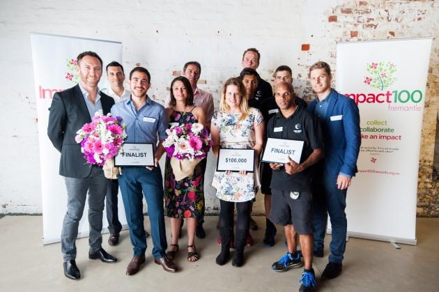 impact 100 finalists