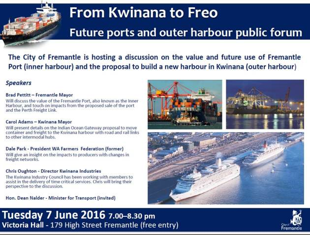 port forum june 7th